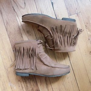 Shoes - Tassel Boots